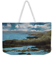 The Rocky Maine Coast. Weekender Tote Bag