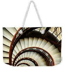 The Rookery Spiral Staircase Weekender Tote Bag by Ely Arsha