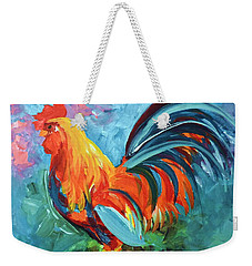 The Rooster Weekender Tote Bag