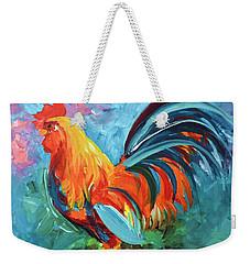 The Rooster Weekender Tote Bag by Tom Riggs