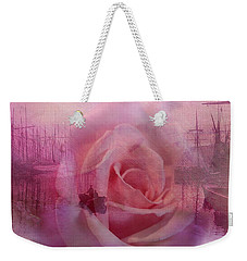 The Rose And The Sea Weekender Tote Bag