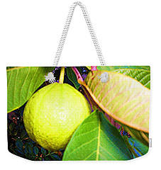 The Rose Apple Weekender Tote Bag by Winsome Gunning