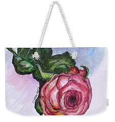 The Rose Weekender Tote Bag by Clyde J Kell