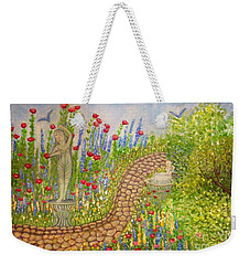 The Rose Dancer Garden Of Victorian Delight Weekender Tote Bag