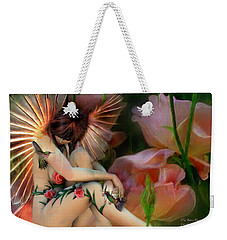 The Rose Fairy Weekender Tote Bag