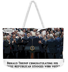 Chapter 16 The Rose Garden Weekender Tote Bag by Joe  Palermo