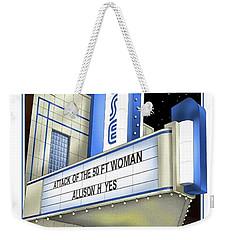 The Rose Weekender Tote Bag by Scott Ross