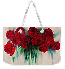 The Roses Of My Summer Weekender Tote Bag