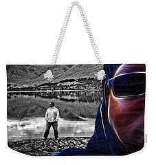 The Rough And The Rugged Weekender Tote Bag by ISAW Gallery