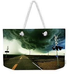 The Rough Road Ahead Weekender Tote Bag