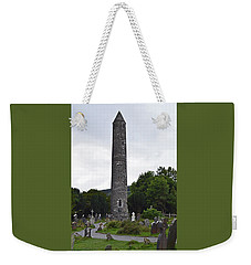 The Round Tower. Weekender Tote Bag by Terence Davis