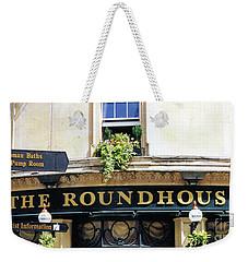 The Roundhouse Pub Bath England Weekender Tote Bag