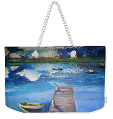 The Rowboat Weekender Tote Bag by Gary Smith