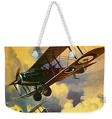 The Royal Flying Corps Weekender Tote Bag by Wilf Hardy