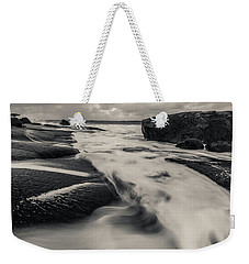 The Rush Of The North Sea Weekender Tote Bag