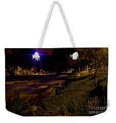 Weekender Tote Bag featuring the photograph The Rushing Rio Tomebamba IIi by Al Bourassa