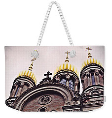 The Russian Church In Wiesbaden 2 Weekender Tote Bag by Sarah Loft