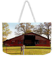 The Rustic Barn Weekender Tote Bag