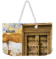 The Rustic Door Weekender Tote Bag