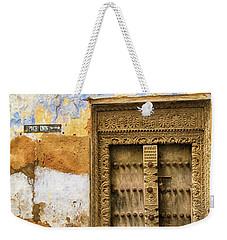 The Rustic Door Weekender Tote Bag