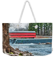 Weekender Tote Bag featuring the photograph The Sachs by Mark Dodd