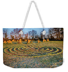 The Sacred Way Weekender Tote Bag by Tim Gainey