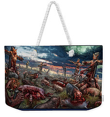 The Sacrifice Weekender Tote Bag by Tony Koehl