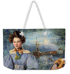 The Sailor And The Maiden Weekender Tote Bag
