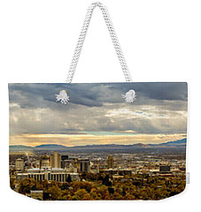 The Salt Lake Valley 2016 Weekender Tote Bag
