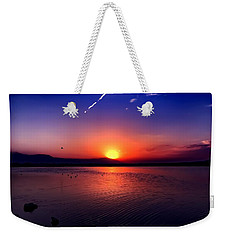 Weekender Tote Bag featuring the photograph The Salton Sea by Chris Tarpening