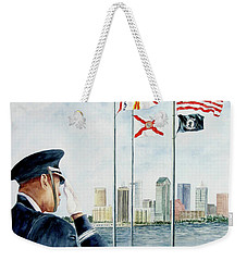 The Salute Weekender Tote Bag