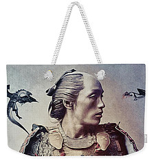 The Samurai And The Dragons Weekender Tote Bag by Susan Maxwell Schmidt