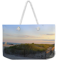 The Sand Dunes Of Long Island Weekender Tote Bag by Dora Sofia Caputo Photographic Art and Design