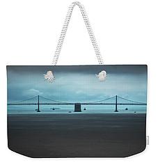 The San Francisco - Oakland Bay Bridge Weekender Tote Bag