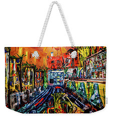 The Sangria Jug Weekender Tote Bag