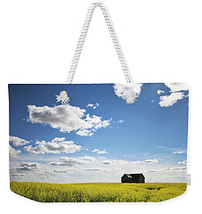 The Saskatchewan Prairies II Weekender Tote Bag by Ryan Crouse