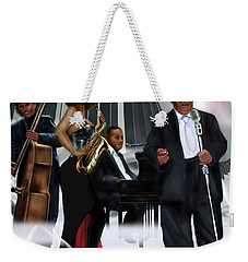 The Saxophone And The Lady Weekender Tote Bag