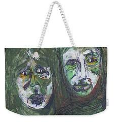 The Scarf Weekender Tote Bag