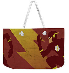The Scarlet Speedster Weekender Tote Bag
