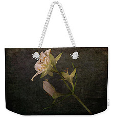 Weekender Tote Bag featuring the photograph The Scent Of Jasmines by Randi Grace Nilsberg