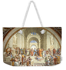 The School Of Athens, Raphael Weekender Tote Bag