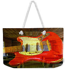 Weekender Tote Bag featuring the photograph The School Of Rock by David Lee Thompson