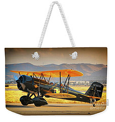 The Scott Familys 1929 Stearman  Version 2 Weekender Tote Bag