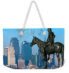 The Scout Statue Weekender Tote Bag