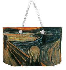 The Scream  Weekender Tote Bag