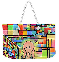 The Scream Jeremy Style Weekender Tote Bag
