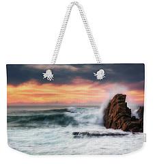 The Sea Against The Rock Weekender Tote Bag