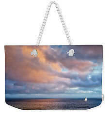 The Sea At Peace Weekender Tote Bag