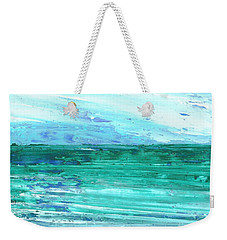 Rolling Waves Weekender Tote Bag