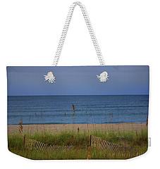 The Sea Shore Line Weekender Tote Bag